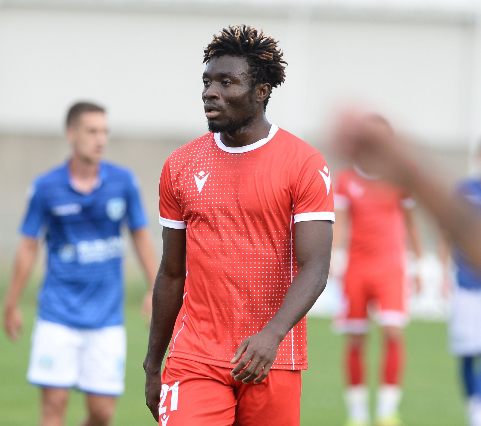 Ghanaian youngster Ibrahim Mustapha scores as Radnicki Mitrovica lose to Kabel in Serbia Prva Liga