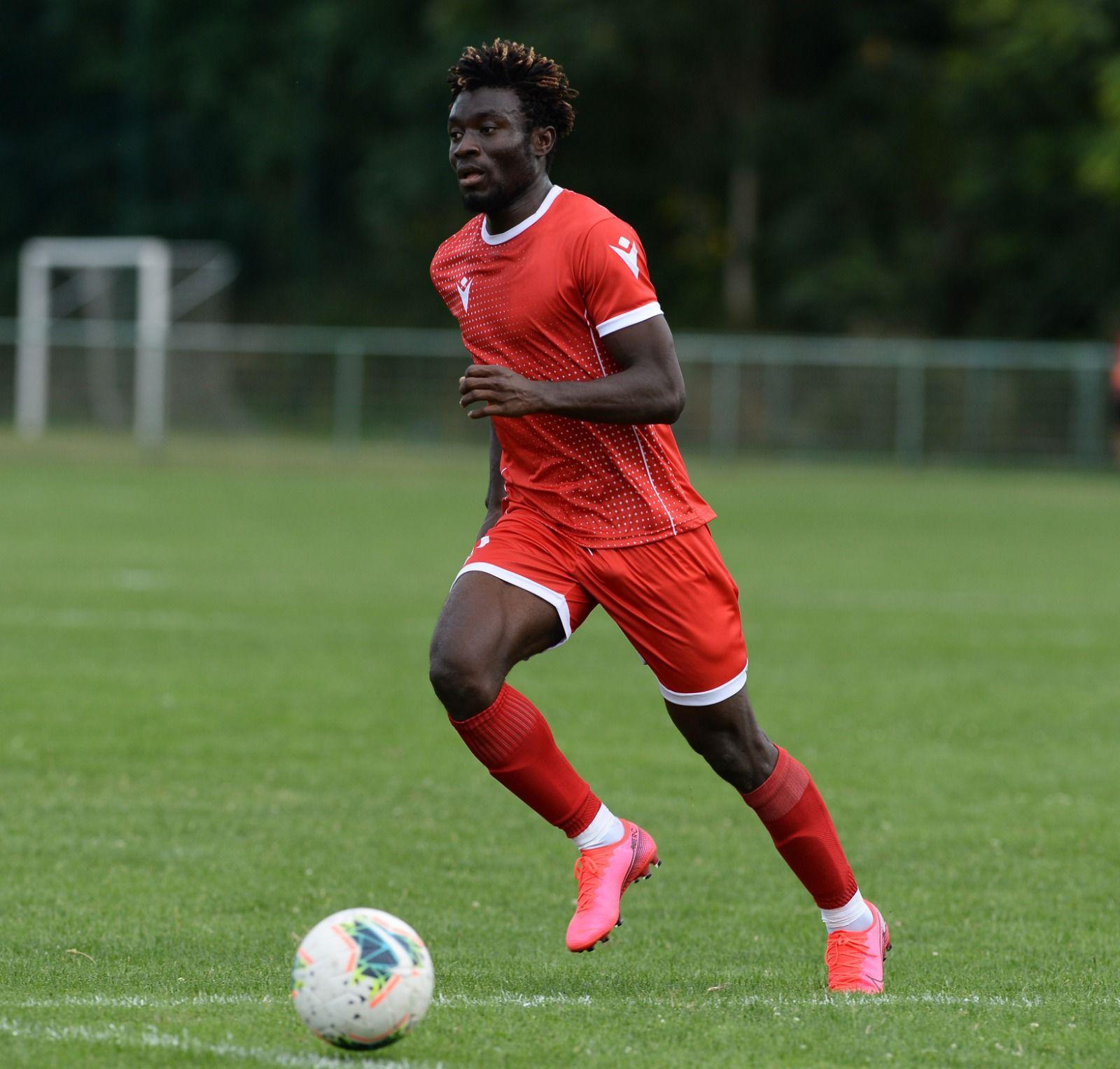 Ghanaian forward Ibrahim Mustapha confident his glittering form will earn him return to Red Star Belgrade