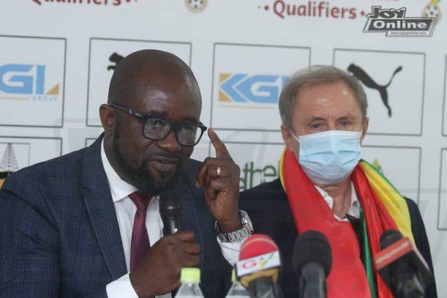 GFA boss Kurt Okraku happy at unity in Black Stars camp since arrival of Milovan Rajevac