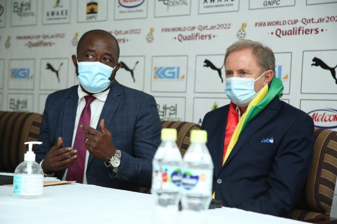 New Black Stars technical team can lead us to the promised land -GFA boss Kurt Okraku