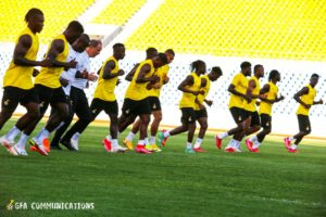 2022 FIFA WCQ: Black Stars to train on Monday ahead of Zimbabwe tie