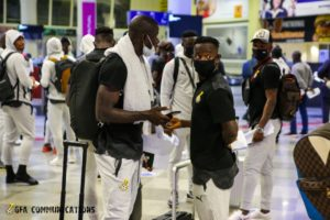 VIDEO: Watch Black Stars departure and arrival to Zimbabwe