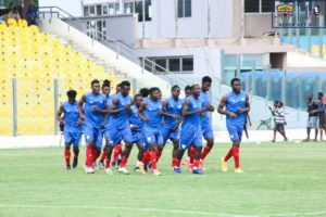 CAF CL: Hearts of Oak step up training ahead of Wydad meeting on Sunday