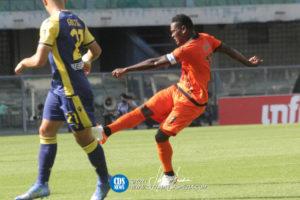 In-form Ghana forward Emmanuel Gyasi made Spezia captain